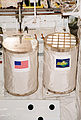 Getaway Special canisters in Atlantis' payload bay for STS-101 (KSC-00PP-0494).jpg