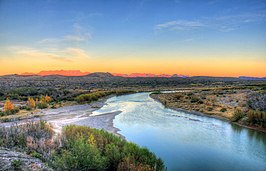 Rio Grande in Big Bend National Park, Texas