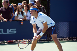 Gilles Müller at the 2008 US Open