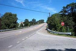 Pennsylvania Route 66 in Gilpin Township