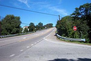 Gilpin Township, Armstrong County, Pennsylvania - Pennsylvania Route 66 in Gilpin Township