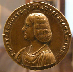 Giovanni maria pomedelli, medaglia di fanciulla ignota, 1500-1530 ca., recto.JPG