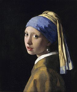 VERMEER Johannes The Girl with a Pearl Earring ca. 1665