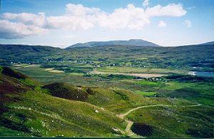 Glencolmcille - A view of Glencolmcille.