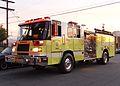 Glendale Fire Department truck in Burbank 2015-01-19.jpg