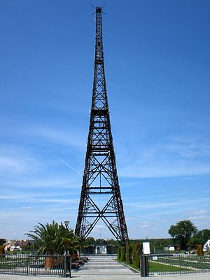 Preemptive war - Gliwice Radio Tower today. It was the scene of the Gleiwitz incident in September 1939