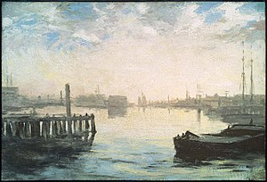 Gloucester, Massachusetts - Gloucester Harbor, ca. 1877, William Morris Hunt