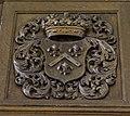 Godlinze - Pancratiuskerk - wapen orgel rechts.jpg