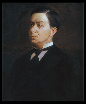 William Goebel - Portrait by George Debereiner