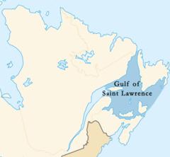 Gulf Of St Lawrence Canada Map Gulf of Saint Lawrence   Wikipedia