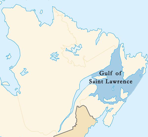 Golfe Saint-Laurent en