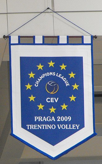 Trentino Volley - European memorial banner