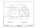 Gonzalez-Alvarez House, 14 Saint Francis Street, Saint Augustine, St. Johns County, FL HABS FLA,55-SAUG,11- (sheet 3 of 14).png