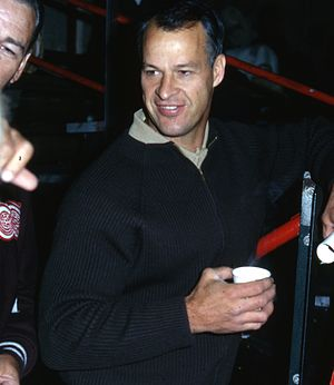 Bart the Lover - Hockey legend Gordie Howe's image was used by Bart in the episode.