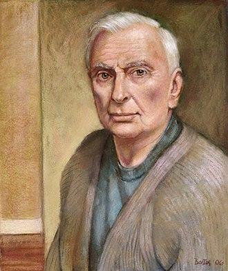 Juan Fernando Bastos - Bastos' portrait of Gore Vidal