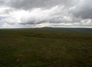 Gorllwyn mountain in United Kingdom