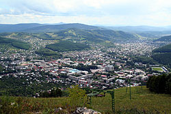 View of Gorno-Altaysk