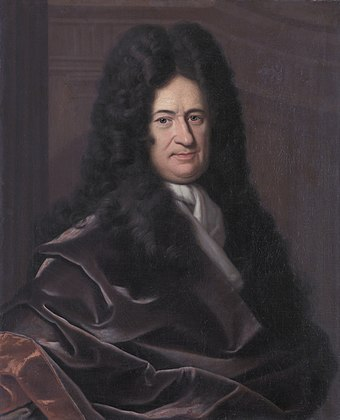 Gottfried Wilhelm Leibniz, a German polymath who wrote primarily in Latin and French. His fields of study were Metaphysics, Mathematics, Theodicy. Gottfried Wilhelm Leibniz, Bernhard Christoph Francke.jpg