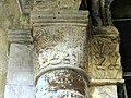 Gournay-en-Bray (76), collégiale St-Hildevert, collatéral sud du chœur, chapiteau du 1er doubleau, côté sud.jpg