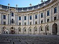 Government Offices Great George Street Circular Courtyard (ground level view across centre).jpg