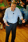 Governor of Florida Jeb Bush, Announcement Tour and Town Hall, Adams Opera House, Derry, New Hampshire by Michael Vadon 46.jpg