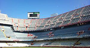 2014 Copa del Rey Final - Image: Grada Mestalla