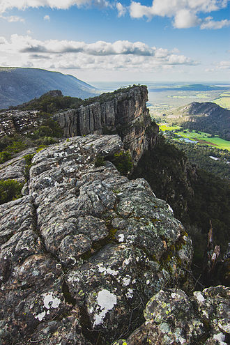 Grampians National Park - Grampians National Park / Gariwerd viewed from north of Boroka Peak
