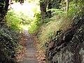 Grange Hill footpath, West Kirby.JPG