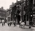 Grantham, Lincolnshire, England. Angel and Royal Hotel and Sharpleys, pre-WW1 (cropped).JPG