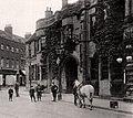 Grantham, Lincolnshire, England. Angel and Royal Hotel and Sharpleys, pre-WW1 (cropped).JPG