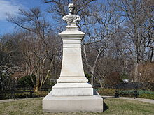 John Howard Payne's memorial stone in Oak Hill Cemetery in Washington, DC