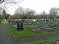 Graveyard at Waterfall Road Cemetery, Southgate, N14 - geograph.org.uk - 629433.jpg