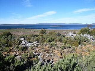 Liawenee Town in Tasmania, Australia