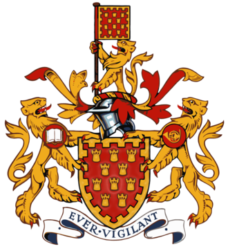 Greater Manchester County Council - Image: Greater Manchester County Council Arms