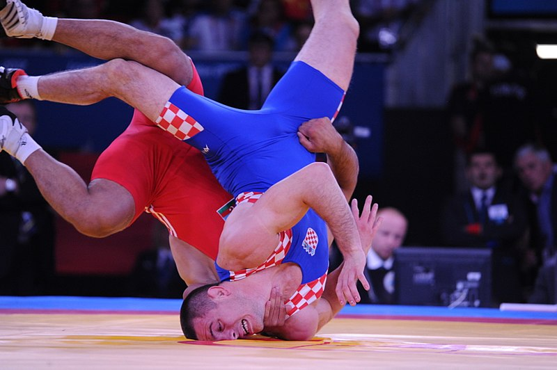 File:Greco-Roman wrestling competition of the London 2012 Games.jpg