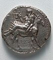 Greece, Eritrea, 5th century BC - Tetradrachm- Silenus on a Donkey (obverse) - 1929.912.a - Cleveland Museum of Art.jpg