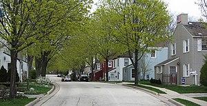 Greendale, Wisconsin - Image: Greendale WI Mar 2012