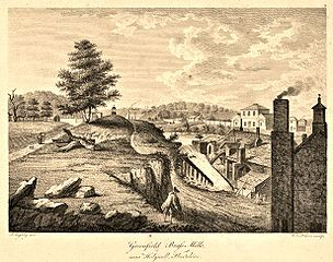 Greenfield brass mills, near Holywell, Flintshire
