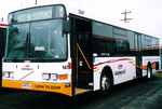 "Photo of a Volgren ""CR221L"" bodied Volvo B12BLE bus (built 2003, #147) of Grenda's buses at Dandenong Depot, Foster Street, Dandenong, 2008."