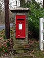 Grimms Hill ER post box, HP 16.JPG