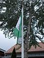 Grosics Gyula Sportcsarnok, zászló, 2020 Mogyoród.jpg