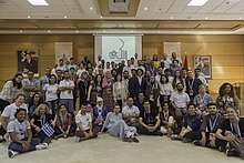 Group Photo during the Arab Wiki 2019 conference in Marrakech, Morocco.jpg