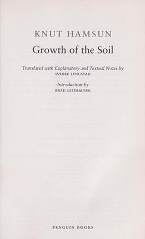 Growth of the Soil - Image: Growth of the Soil
