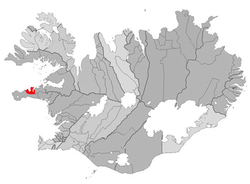 Location of the Municipality of Grundarfjardarbær