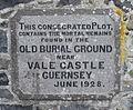 Guernsey July 2010 burial ground Vale Castle.jpg
