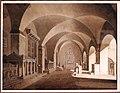 Gustav friedrich hetsch, veduta di san lorenzo fuori le mura, roma, 1820 ca.jpg