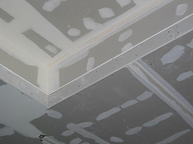 file gypsum ceiling1 jpg wikimedia commons. Black Bedroom Furniture Sets. Home Design Ideas