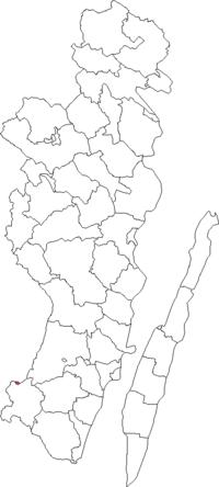 Emmaboda købstad i Kalmar amt