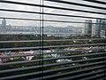HKCL 銅鑼灣 Causeway Bay 中央圖書館 public library windows view 維多利亞公園 Victoria Park 工展會 HKBPE December 2016 Lnv3 百頁簾.jpg