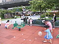 HK 中山紀念公園 Sun Yat Sen Memorial Park Playground visitors April-2012.JPG
